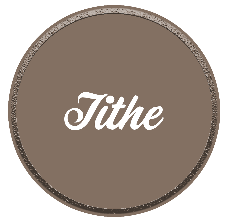 Tithe circle logo Christian Life Church, Berlin, Vernon, Connecticut, CT, Sunday, Wednesday, Thursday, Friday, Sermon, Bible study, Assemblies of God, Pentecostal, worship, young adult, kids ministry, fellowship