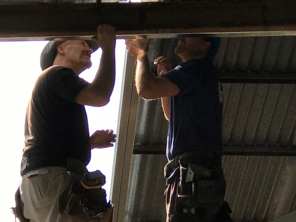 Roofing the Chapel