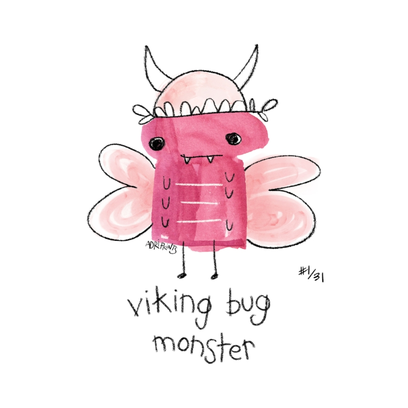 Viking Bug Monster