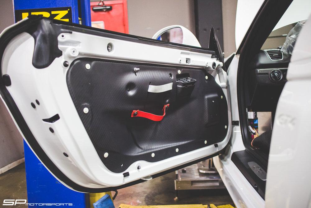GT4 Clubsport Carbon Fiber Door Panels & GT4 Clubsport Carbon Fiber Door Panels u2014 SP Motorsports