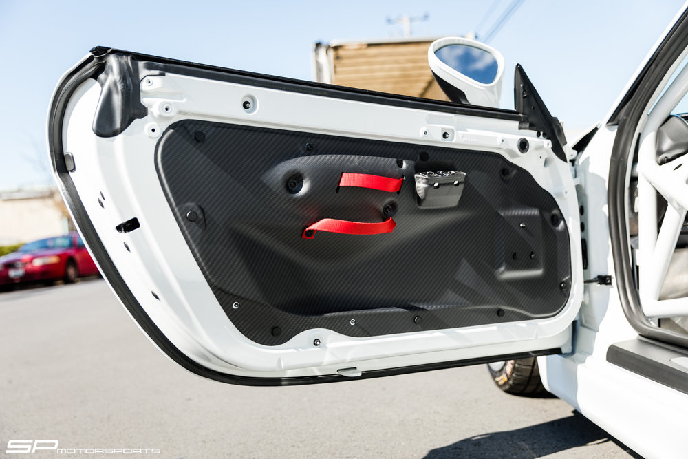 Carbon Fiber Door Panels also available