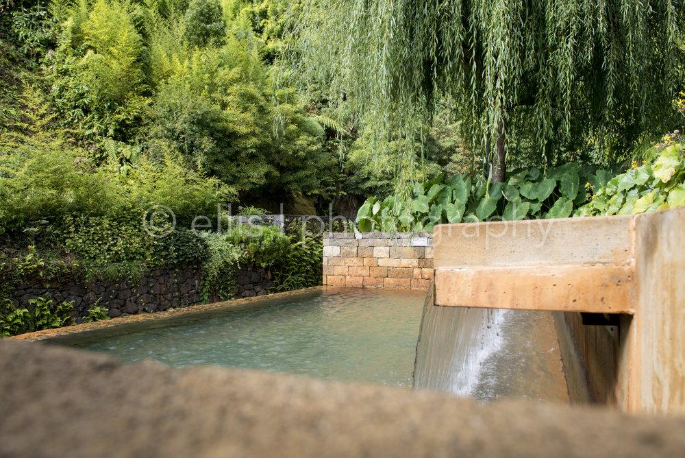 Natural hot spring, Poca da Dona Beija, in Furnas, Sao Miguel. Peaceful photograph of Ellis photography