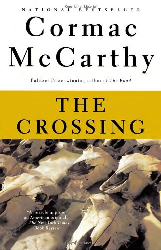 "Groot lof vir hierdie boek in The New York Times :  "" The Crossing  is a miracle in prose."""