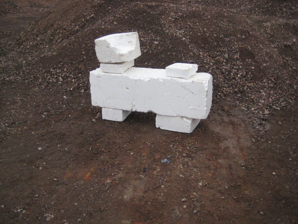 CLVIII Polystyrene placement.jpg