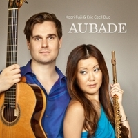 AUBADE   The first album from Kaori Fujii & Eric Cecil Duo, featuring compositions from around the world.   Purchase through  iTunes