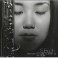 J.S. BACH BWV 1007 - 1010   Debut album and the first recording of the Four Cello Suites on flute in the world.