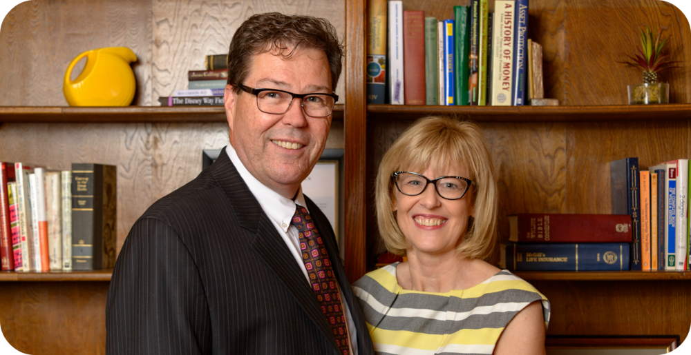Bruce and Ruth Schlappi, of Schlappi Financial Group, help clients build retirement savings they can count on.