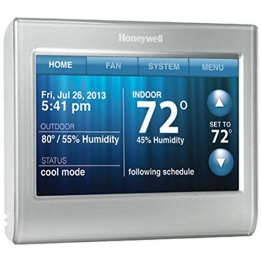 A smart thermostat is smart.