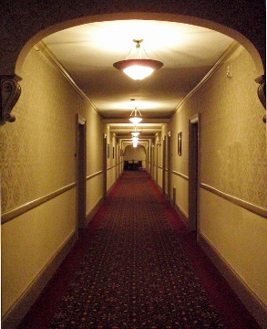 Anyone who saw The Shining knows the importance of hall lighting.