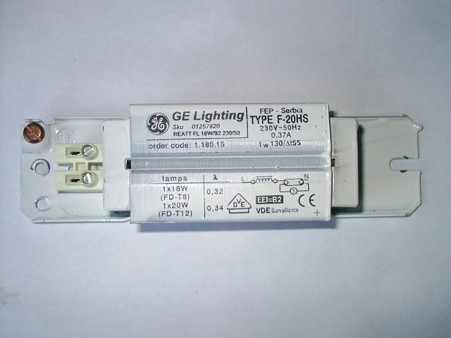A GE Instant Lighting Ballast