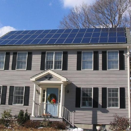 Some bright entrepreneur is going to invent solar roof tiles and then it will all be over with for the traditional electric companies.