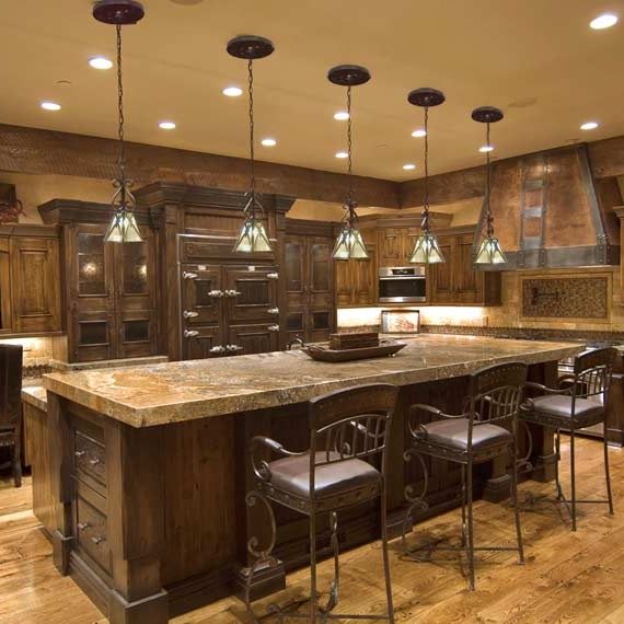 Lights, appliances, electrical sockets--your kitchen has it all.