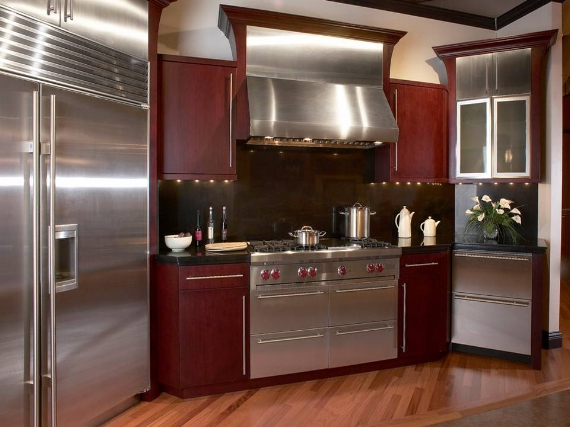 Shiny electrical appliances bring great joy.