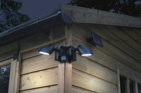 Dawn-to-dusk photocells, solar lights, and LED options are all possibilities, but simple clusters of floodlights are no longer the norm.