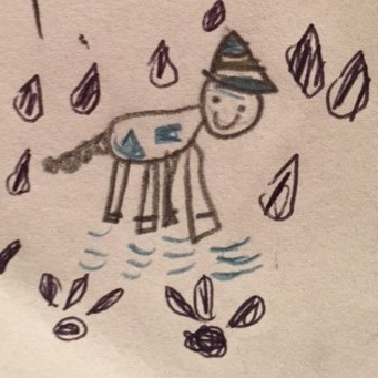 Rainy by Gabriella Garlovsky, age 8