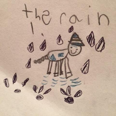 Rainy by Gabriella Garlovsky, age 8