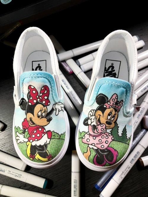 0c6f7fffd8ac Vans Custom Toddlers Slip-On — Nykeria Shoes
