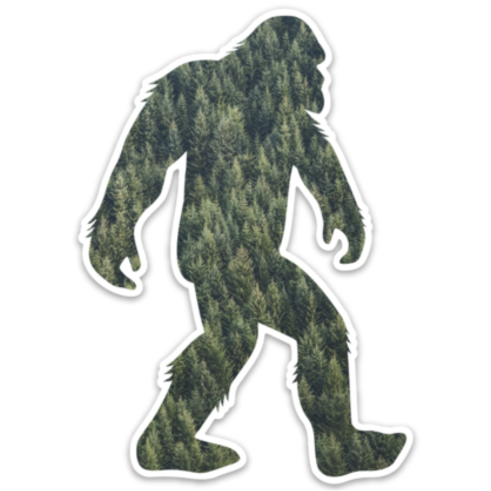 A portion of your purchase helps protect bigfoot's home.