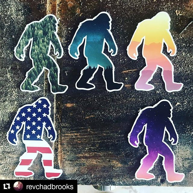 Squatch sighting! Which one's your favorite? . . . 📸➡️@revchadbrooks ・・・ I've been waiting on these....