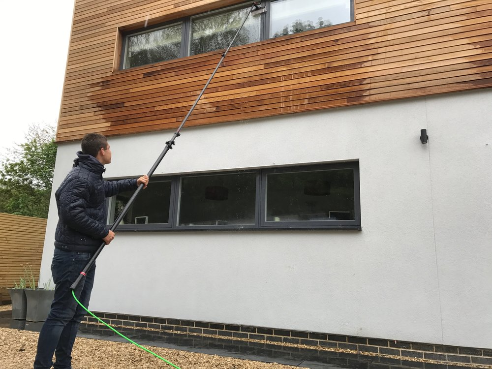 DOMESTIC WINDOW CLEANING   REQUEST A QUOTATION