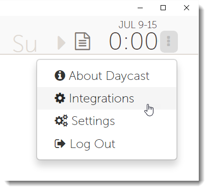 Daycast integrations