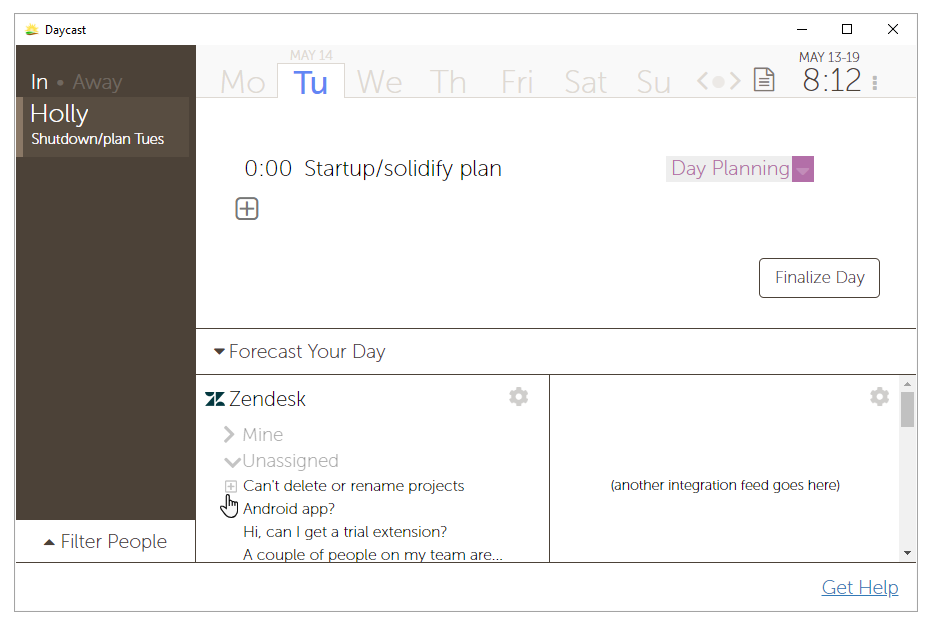 Daycast + Zendesk Support: How It Might Work — Daycast