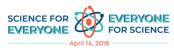 Raleigh March for Science Teal/Navy Logo