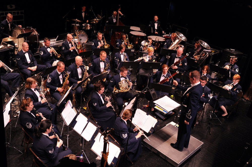 USAF Heritage of America band ensemble