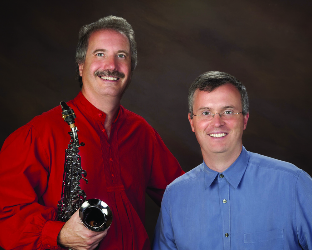 Saxophonist Michael Stephenson (left) and Pianist Mark Hopper