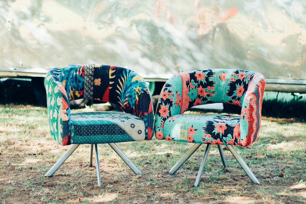 Checkout these beautiful bohemian chairs