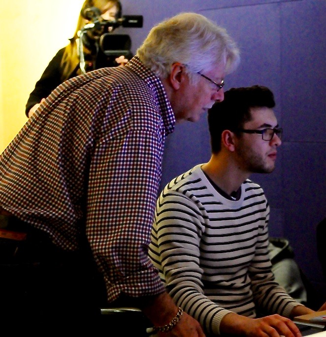 Working with the legendary Ken Scott