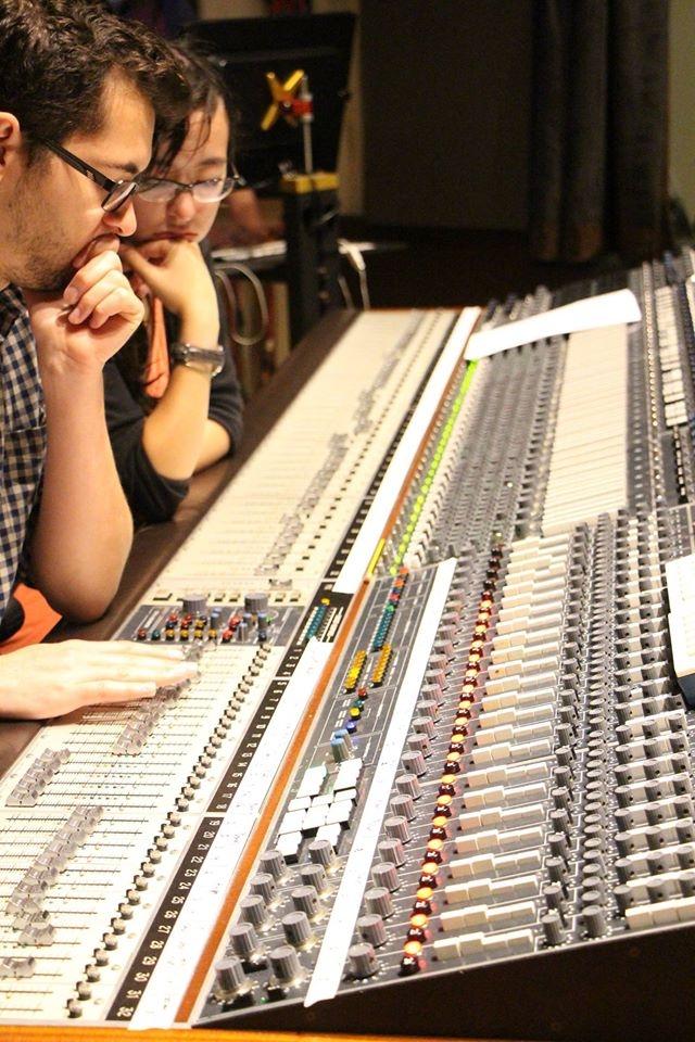 Recording Chelsea McBride's Socialist Night School big band