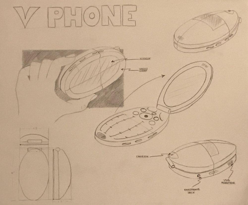 Vanity Phone Sketches