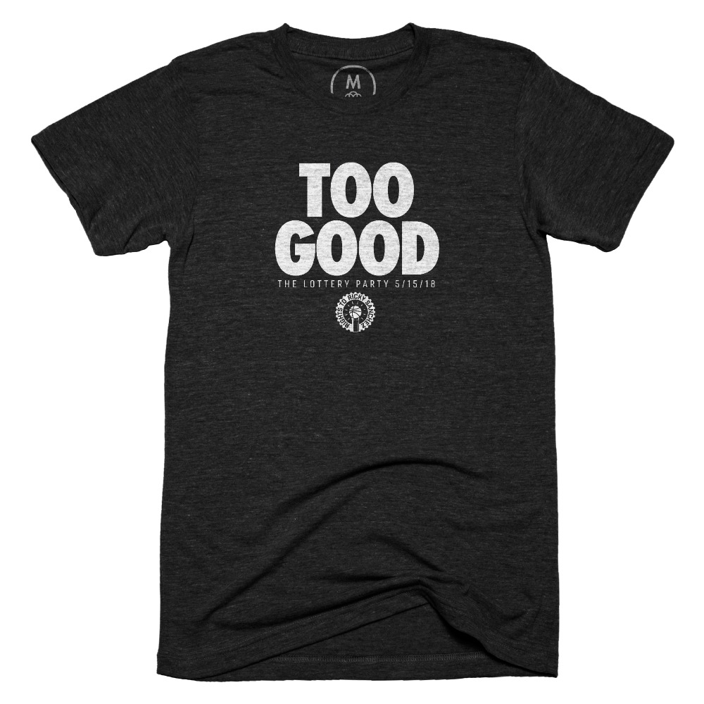 2018 Rights To Ricky Sanchez Lottery Party - Too Good. – Tri-Blend – Men - Tee – Vintage Black (1).jpg