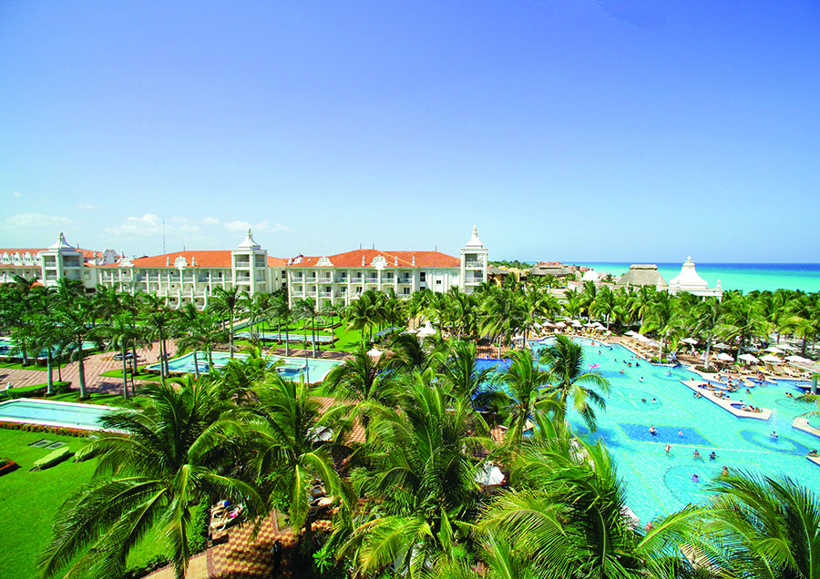 Riu Palace Riviera Maya pool ariel.jpg