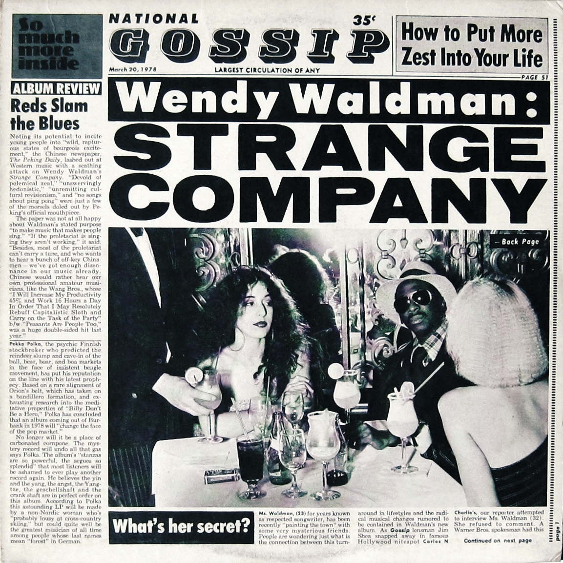 Articles Wendy Waldman Vocalist Songwriter Producer Composer