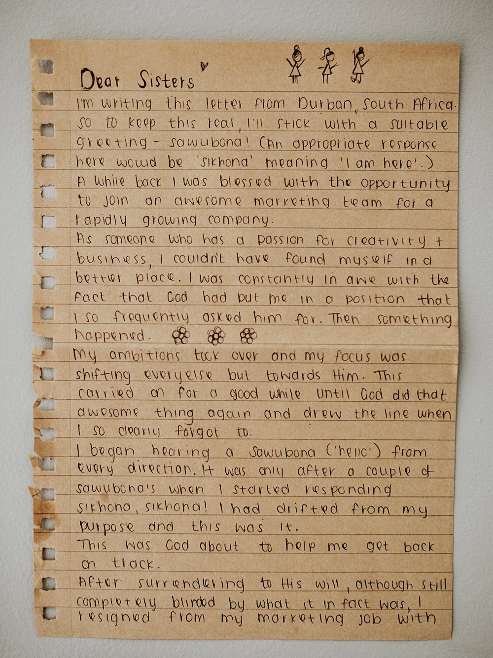 Jodi Sardinha Letter to Women the catholic woman 1