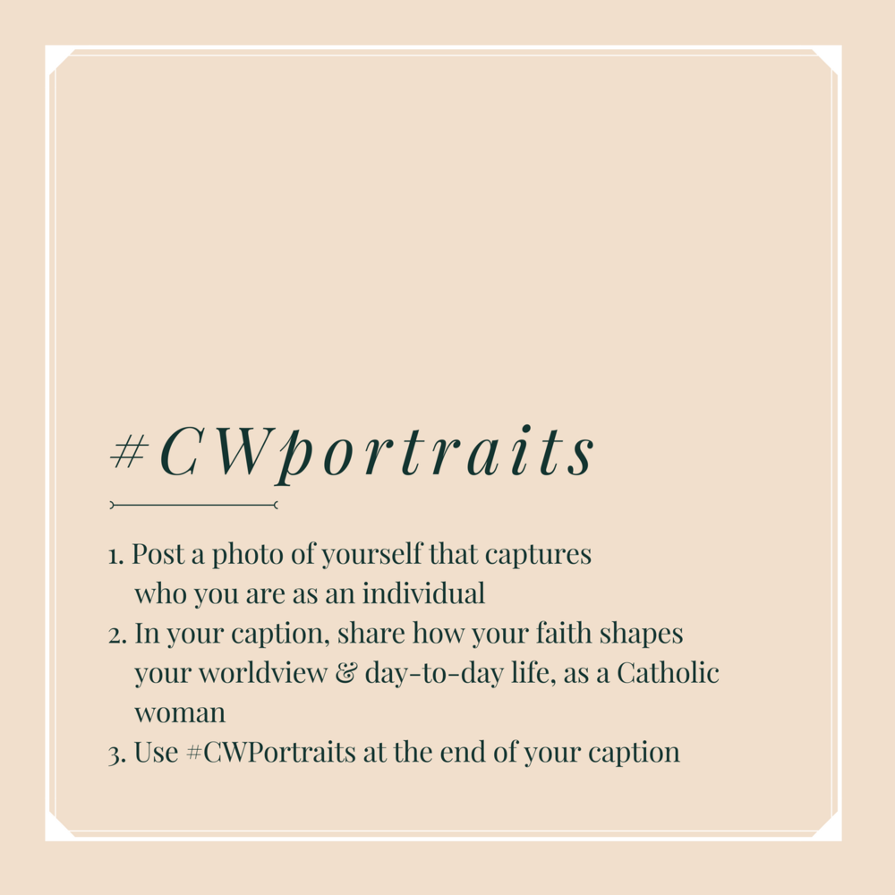 #CWportraits instructions