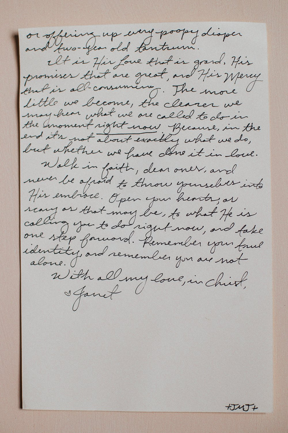 Janet Easter Letter to Women 4