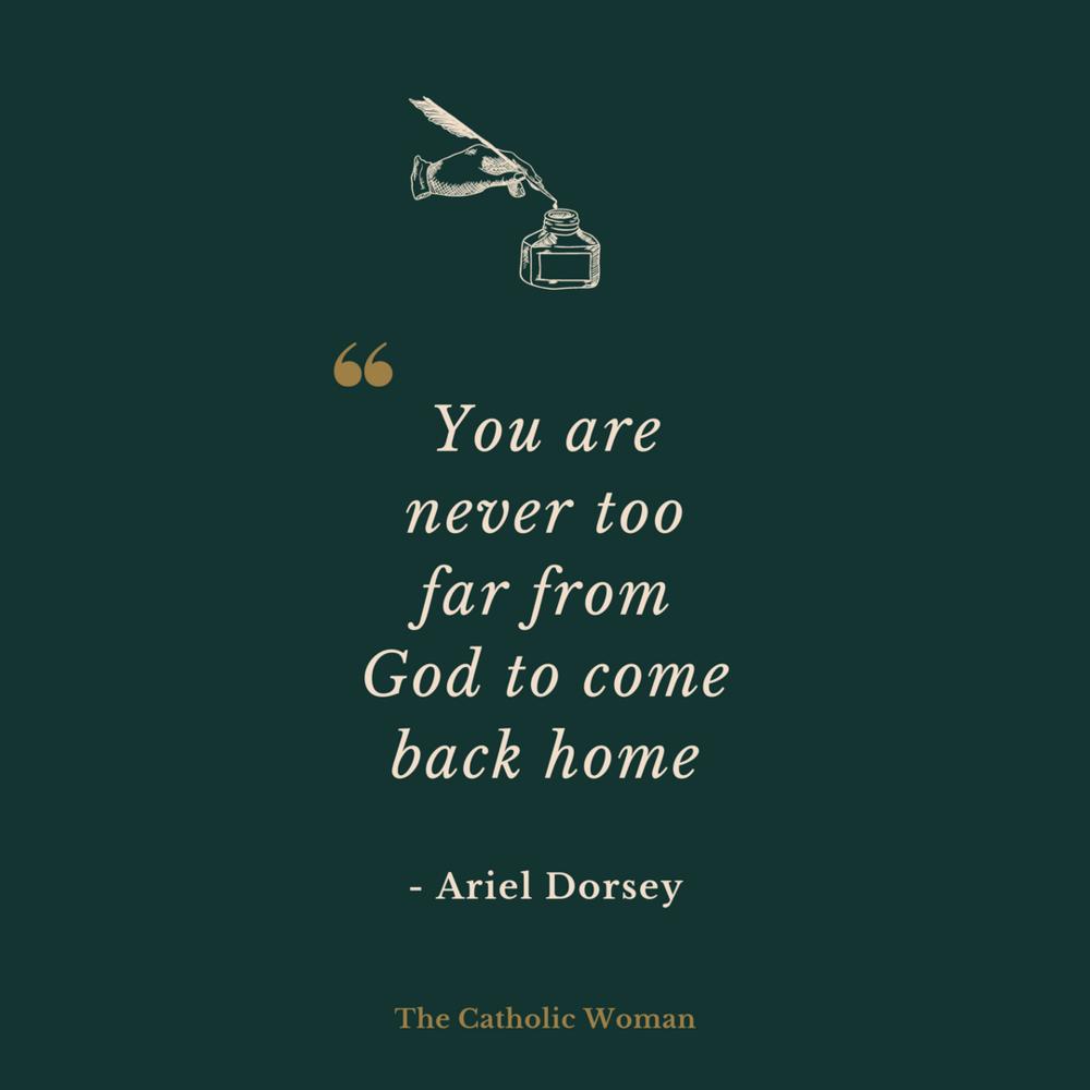 Ariel Dorsey The Catholic Woman