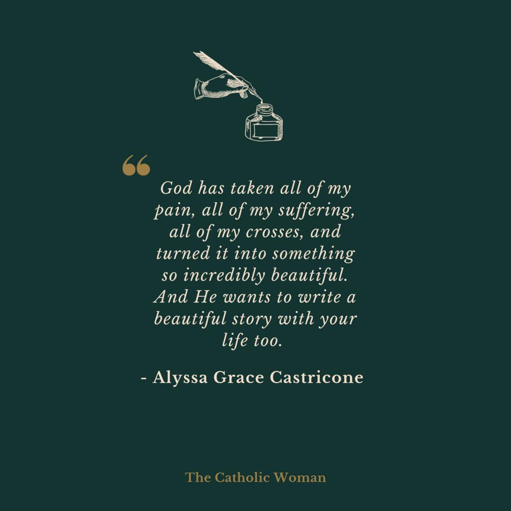 Alyssa Grace Castricone The Catholic Woman