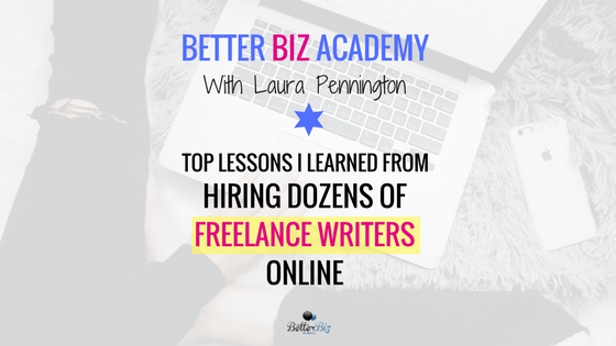 top lessons i learned from hiring dozens of lance writers  top lessons i learned from hiring dozens of lance writers online