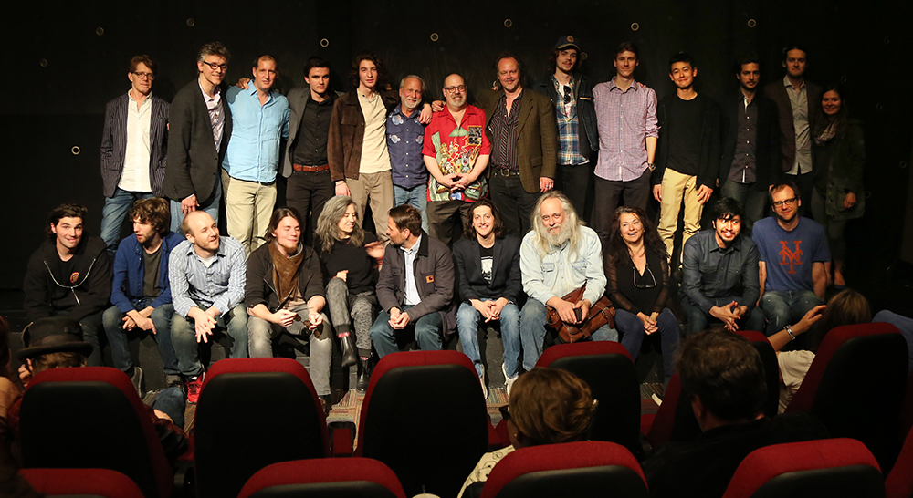 The cast and crew of Stray Bullets at the IFC Center screening