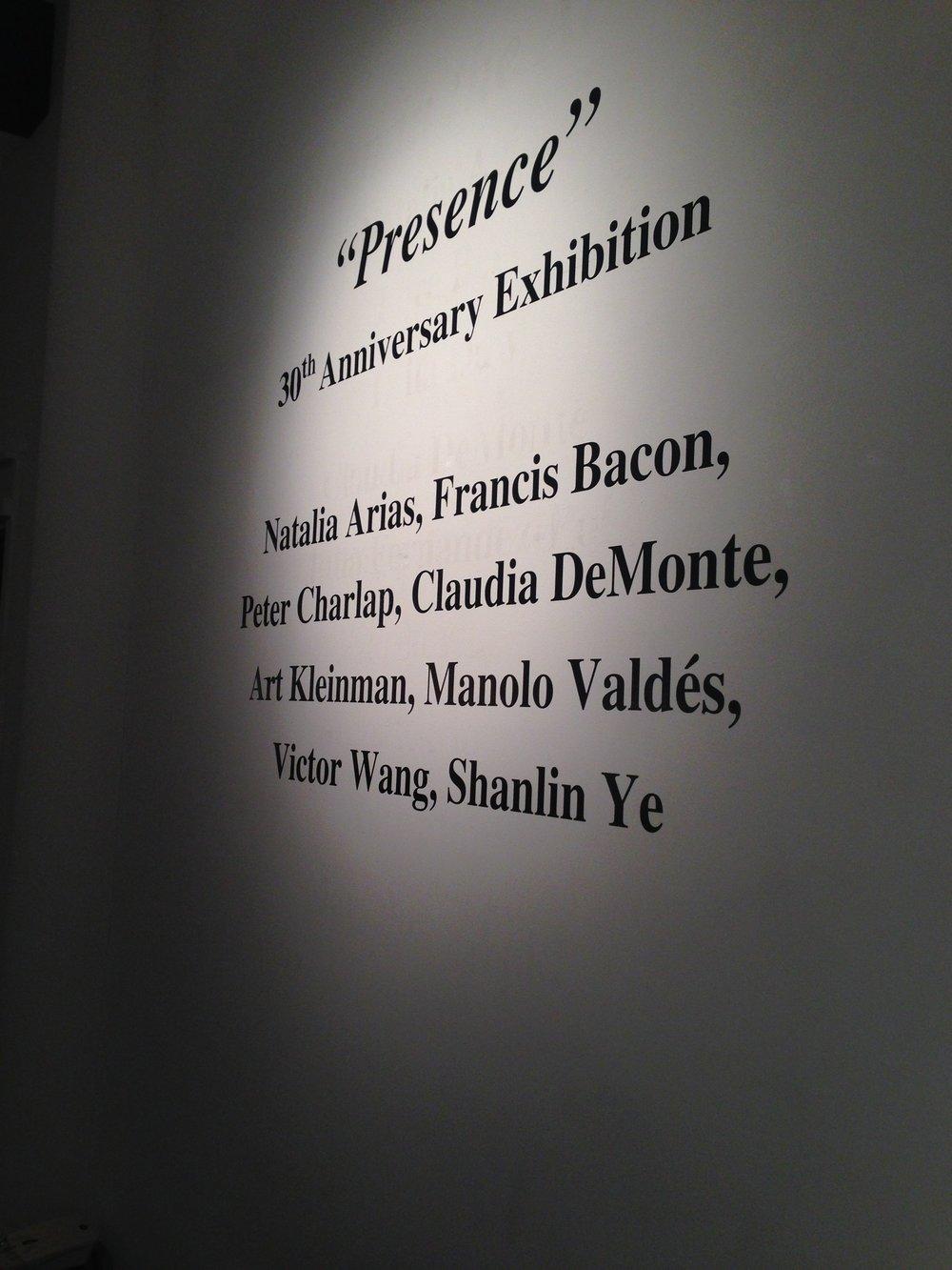 Shanlin Ye Presence Exhibition