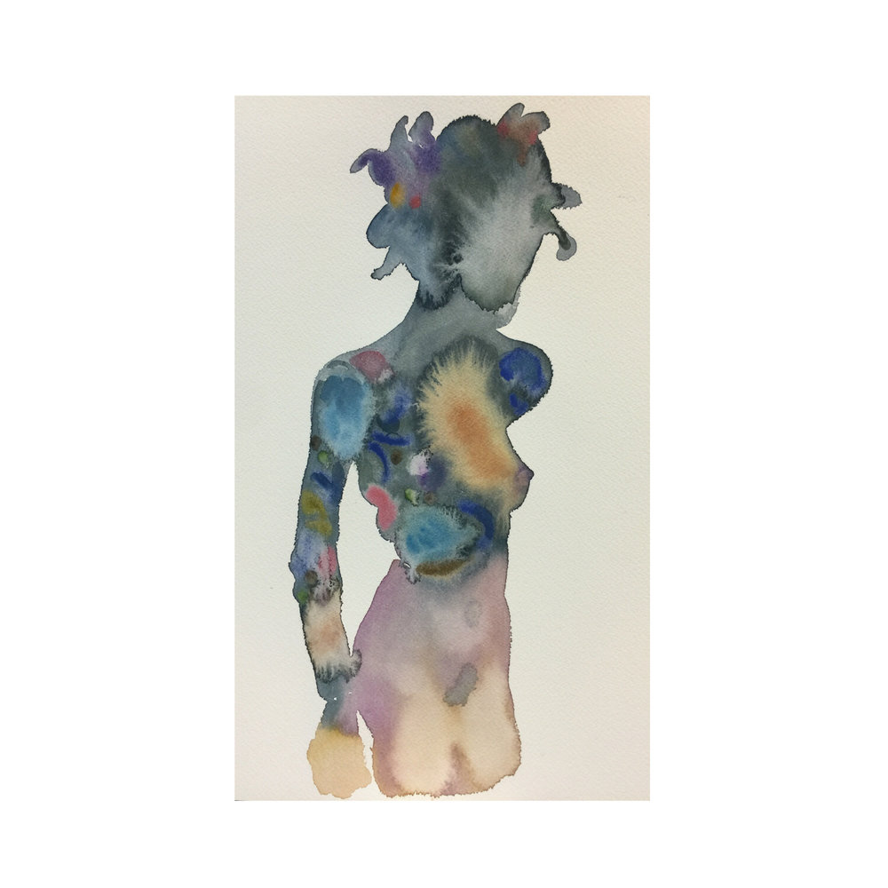 Day Dreamer Figure #23 (Contemporary Chinese Artist Shanlin Ye at Jim Kempner Fine Art)
