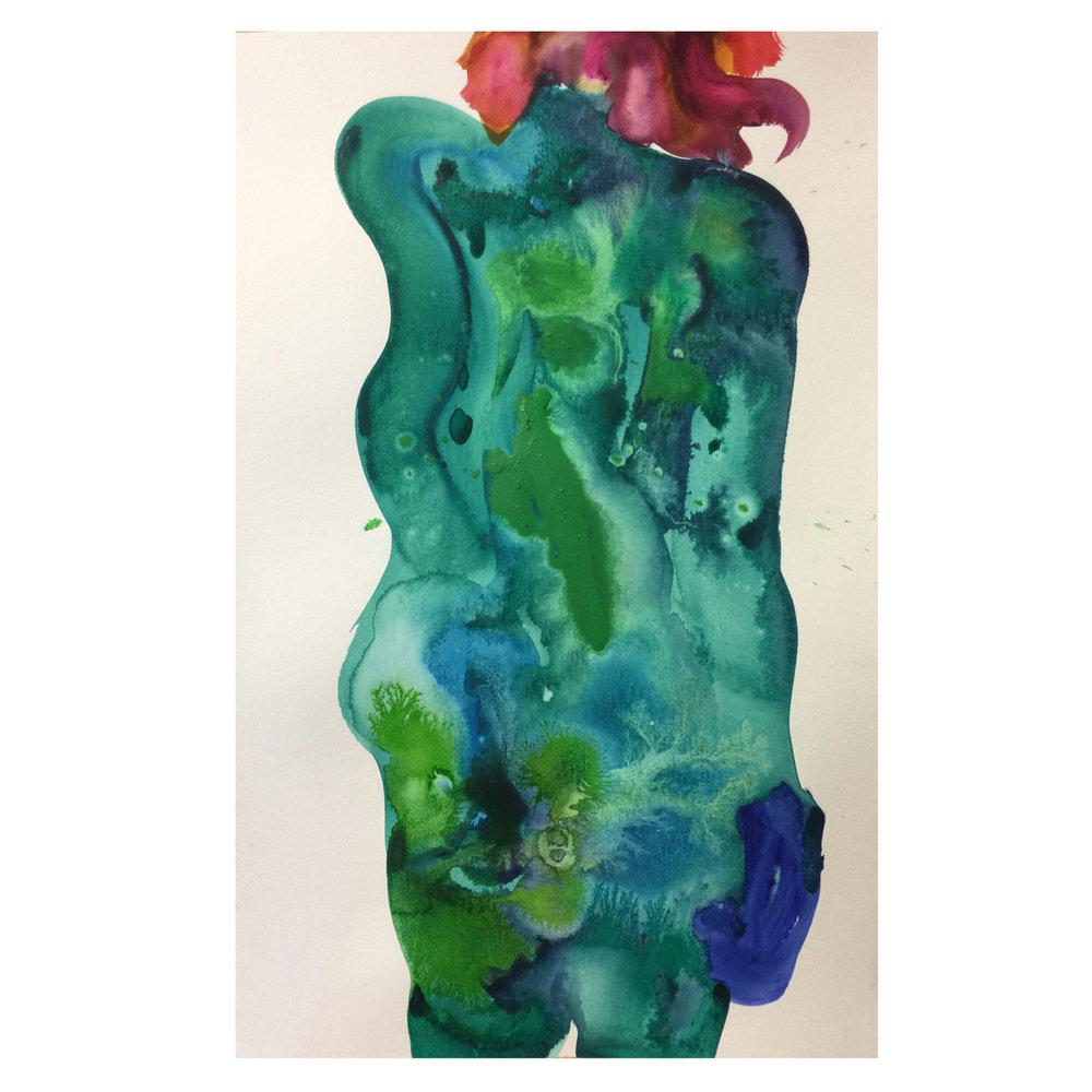 Shanlin Ye Body #4 (Contemporary Fine Art at Jim Kempner Fine Art)