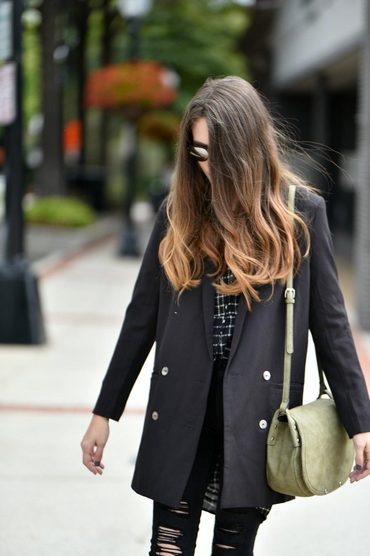 Trendy Fashion Blog | Fall Black Blazer