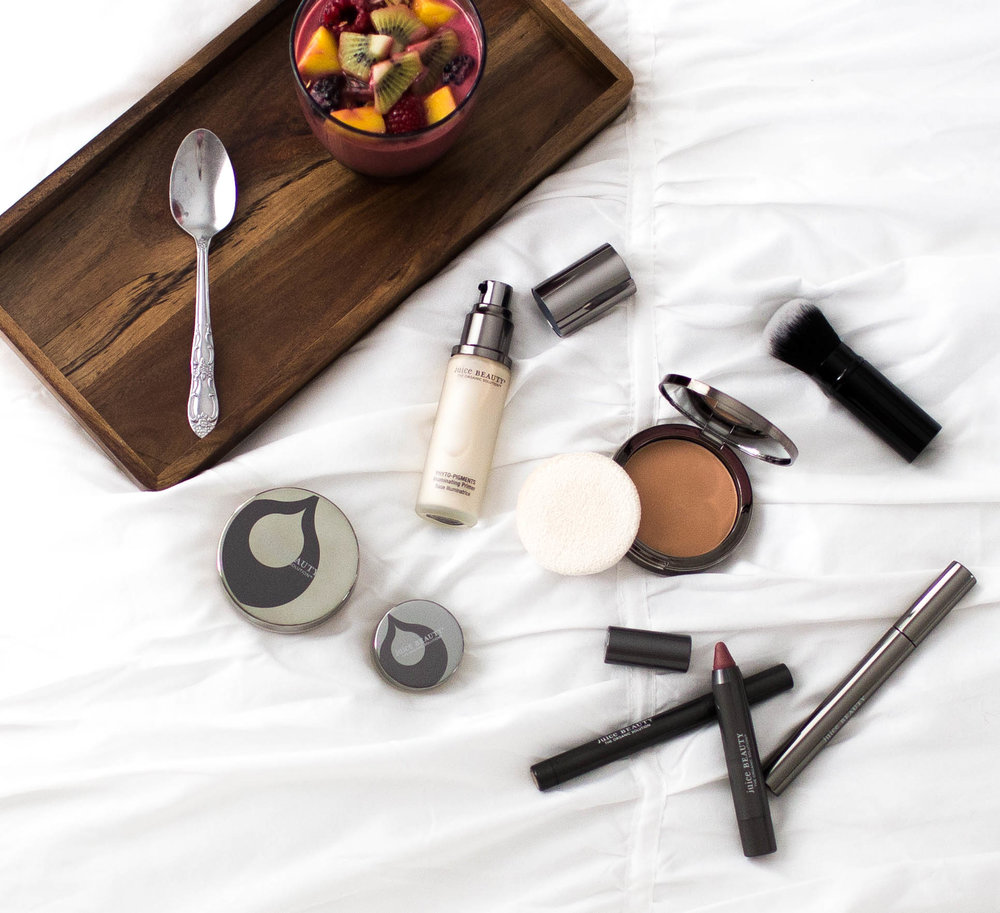 Trendy Fashion Blog | Makeup Flat lay
