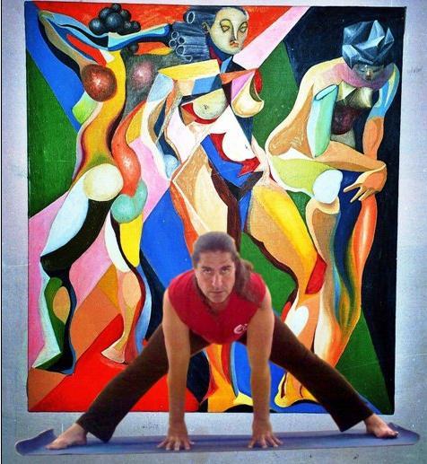 """Jorge Avila Vinas   Maestro Entrenador y Eduacor de Yoga. Director de ¡Yoga Va! Cuba. E-RYT500  tlf.Movil: 5 2967544  Clases: Centro Cultural """"Espacio Irreverente"""" Calle 11 # 1152 apto 5 e/ 16 y 18. Vedado. Habana. Cuba. Martes y Viernes."""
