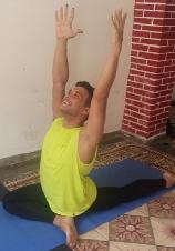 Ramón  Maestro de Yoga Registrado y Certificado por Yoga Alliance RYT200. tlf.Movil: (+53) 58153464 , email : ramon8301@nauta.c u. Clases: Miró 43 e. Cuba y Garayalde. Centro Ciudad. Holguín. Cuba. Horario previamente acordado.  Imparto clases de Yoga Integral .